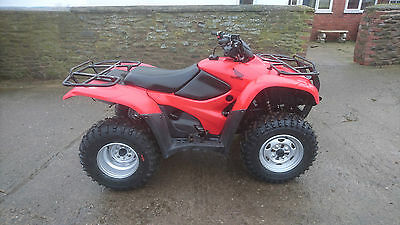Honda fourtrax trx 420 FM quad bike ATV 4x4 2012