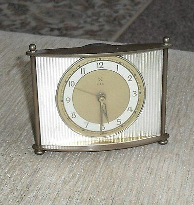 Lovely Vintage Small 1930's Clock - H A C