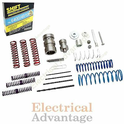 E4OD 4R100 VALVE Body and Accumulator Body Shift KIt With Pump Boost Valve  1989+