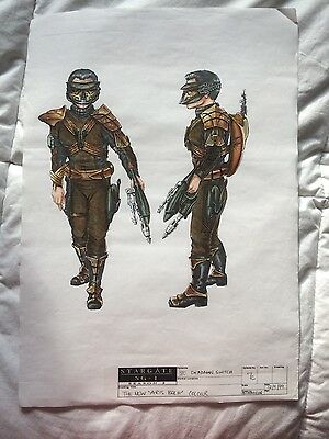 "Stargate SG-1 Production art colour "" Aris Boch"""