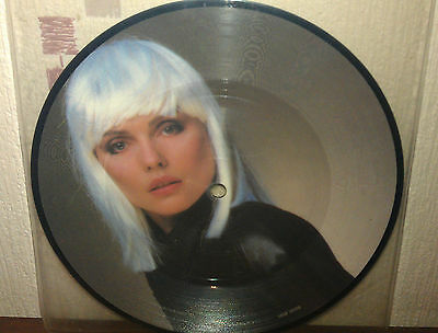 """Blondie 7"""" Island Of Lost Souls Picture Disc For Sale"""