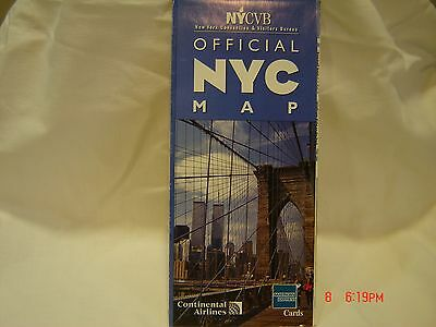 NYC Visitor's Guide & Map New York City. World Trade Center 1999