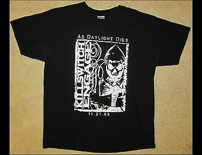KILLSWITCH ENGAGE As Daylight Dies Adult Size Large Black T-Shirt