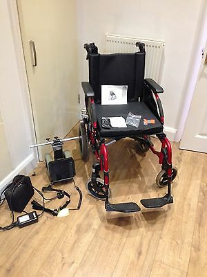 Invacare Transit Action 3 Wheelchair with Power Pack