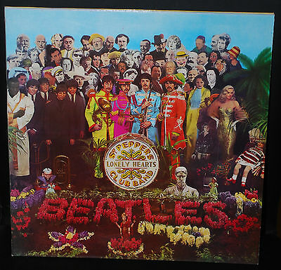 BEATLES-Sgt Pepper's Lonely Hearts Club Band 1989 re-issue