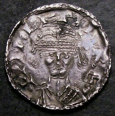 1066 to 1087 William I Silver Penny Bonnet Type