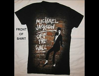 MICHAEL JACKSON Off The Wall Black T-Shirt