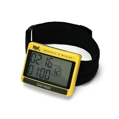 Everlast Interval Training Timer Boxing MMA Round Timer Crossfit Sprints Weights