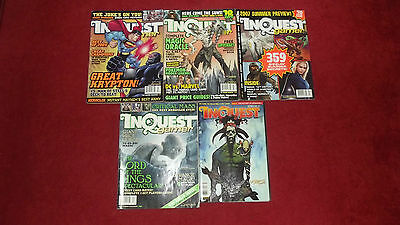 5 Inquest Gamer Magazines Computer Gaming Magazines