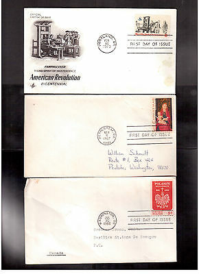 Usa First Day Covers Lot Of 15, Please Look !!