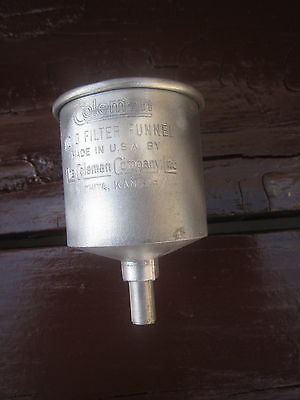 Coleman Gas Lantern And Stove Part. #0 Funnel Without The  Blue Filter.