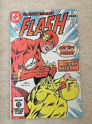 The Flash #324 - Death Of Professor Zoom Reverse Flash - Carmine Infantino - 1St