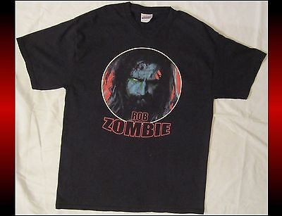 ROB ZOMBIE Adult Size Large Black T-Shirt