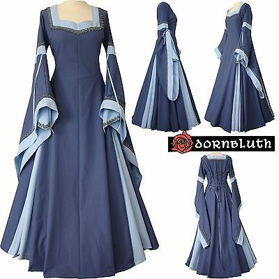 MEDIEVAL Renaissance dress GUINEVERE, Tailor Made in Germany, XS S M L XL XXL 28