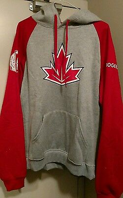 Team Canada World Cup of Hockey Pullover Sweatshirt- Men's Large
