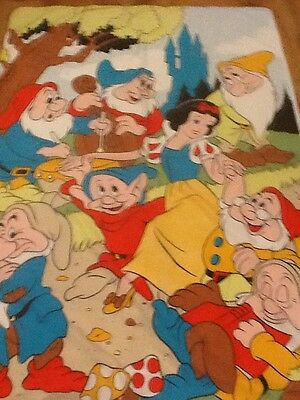 Disney snow white and the 7 dwarfs single duvet cover. vintage.