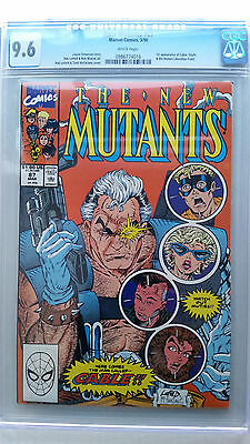 New Mutants #87 CGC 9.6 NM+  1st Appearance Cable & Stryfe