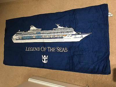 Beach Towel From The Royal Caribbean Cruise Ship Legend Of The Seas