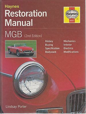 Mg Mgb Gt Coupe & Roadster ( 1962 - 1980 ) Owners Diy Restoration Manual
