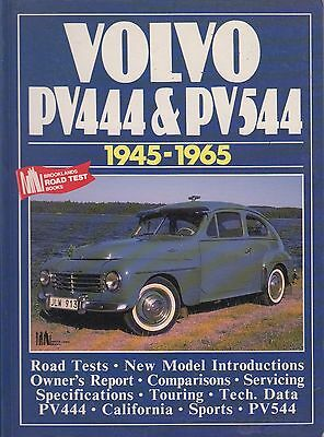 Volvo Pv444 & Pv544 Saloon ( 1945 - 1965 ) Period Road Tests Book
