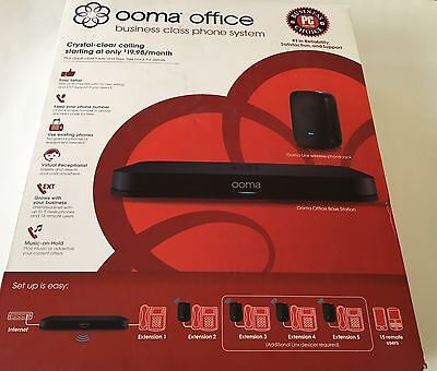 Ooma Office Business class VoIP Phone System Free Shipping