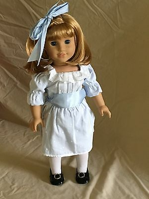 Retired American Girl Nellie Doll, Accessories, And Holiday Outfit