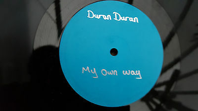 "DURAN DURAN My Own Way 12"" UK blue label PROMO PSLP 348 RARE"