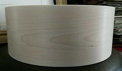14x5.5 solid steambent maple snare drum shell by erie drums