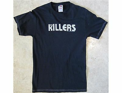 THE KILLERS Adult Size Small Black T-Shirt