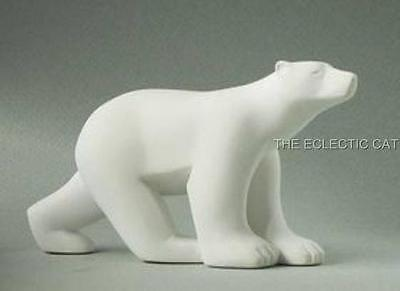 Polar Bear MINI SCULPTURE STATUE POCKET ART Francois Pompon French France Art