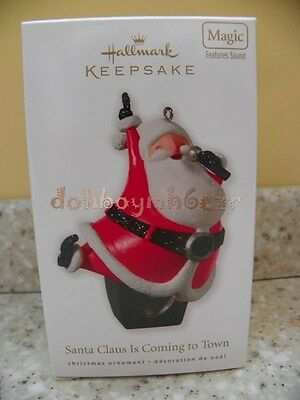 Hallmark 2010 Santa Claus is Coming to Town Jackson 5 Christmas Ornament