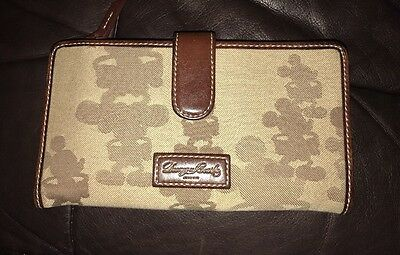 Disney Dooney and Bourke Mickey Mouse Silhouette Tonal Wallet