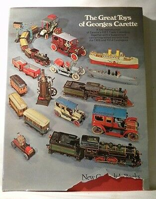Great Toys of Georges Carette, The  by Allen Levytrade catalogue for mechanical,