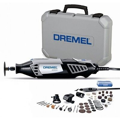 NEW! Dremel 4000-4/50 175W Variable Rotary MultiTool Kit 50piece-5 Year Warranty
