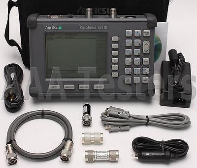 Anritsu SiteMaster S251B Two Port Transmission Cable Antenna Analyzer S251