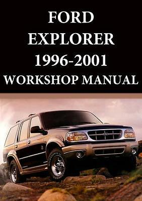 Ford Explorer Workshop Manual: 1996-2001