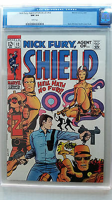 Nick Fury, Agent of SHIELD #12 CGC 9.4 NM