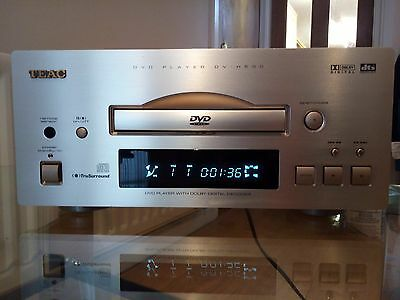 TEAC DV-H500 DVD Player 500 Reference series with Remote @ champagne @A PD MD CD