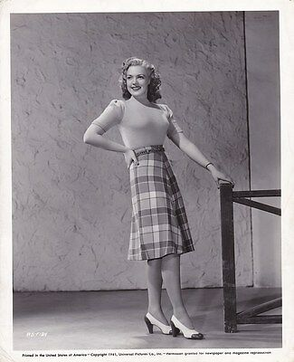ANNE GWYNNE Sweater Girl Original Vintage THE BLACK CAT Universal Portrait Photo