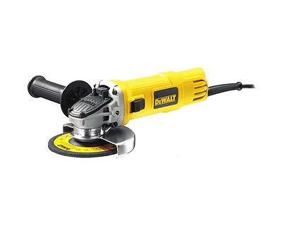 "NEW! DeWalt DWE4151-XE 900W 125mm 5"" Slide Switch Small Angle Grinder"