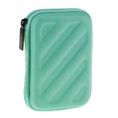 "2.5"" HDD Sata External Portable Hard Drive Carry Case Pouch Sleeve Green"