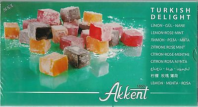TURKISH DELIGHT / CANDY / LEMON / ROSE/ MINT / FLAVOR 14.1 oz SHIPPED FROM LA