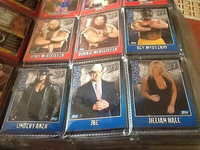 Topps Wwe Payback Smackdown Set Of 32 Cards