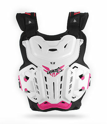 Leatt Chest Protector Jacki - White/Pink Ladies 5016300100 One Size