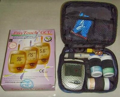 EasyTouch GCU Glucose Cholesterol Uric Acid Blood Monitoring 3in1 Tester (New)