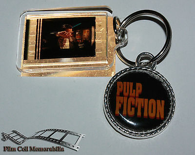 Pulp Fiction - 35mm Film Cell Movie KeyRing and Pendant Keyfob Gift