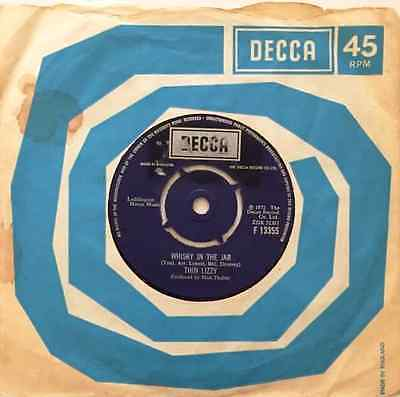 """THIN LIZZY - Whisky In The Jar (7"""") (G+/G+)"""