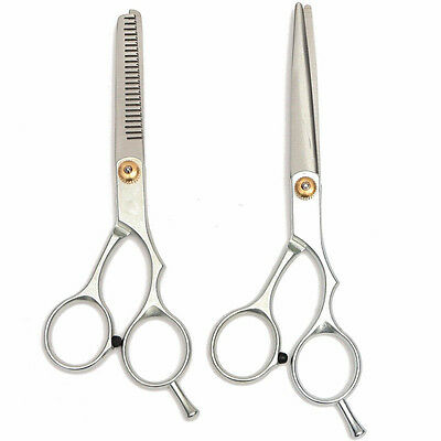 Popular Pet Dog Cat Grooming Hair Cutting/Thinning Set Scissors Pet Shears LM