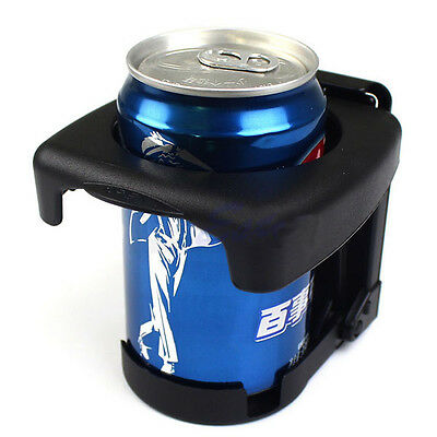 Foldable Plastic Beverage Drink Bottle Cup Can Stand Holder for Car/Auto/Vehicle
