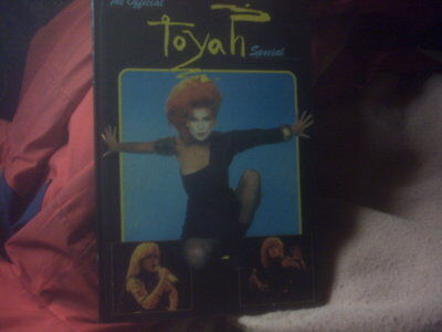 TOYAH uk pop annual THE OFFICIAL TOYAH SPECIAL